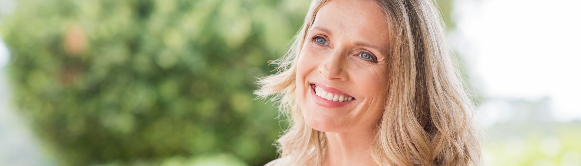 Smiling Happy Mature Woman